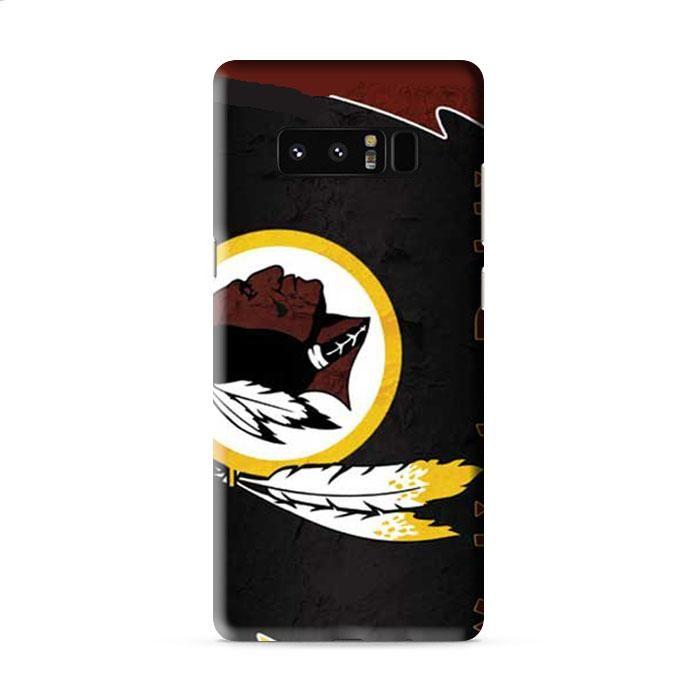 Washington Redskins logo wallpaper Samsung Galaxy Note 8 3D Case Caseperson