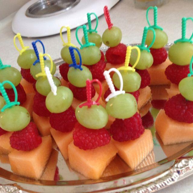 Pirate party- fruit sword kabobs are soo cool xxxxxxxxxxx