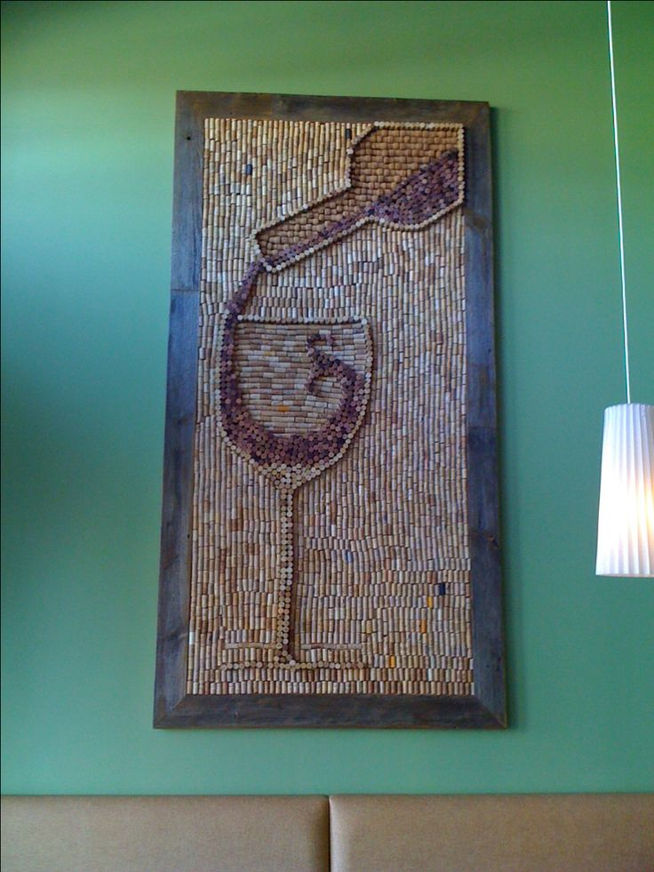 Wine Cork Art!