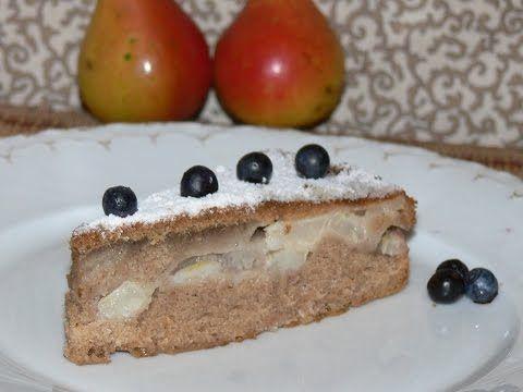 Грушевый пирог рецепт от nashydetky.com - YouTube