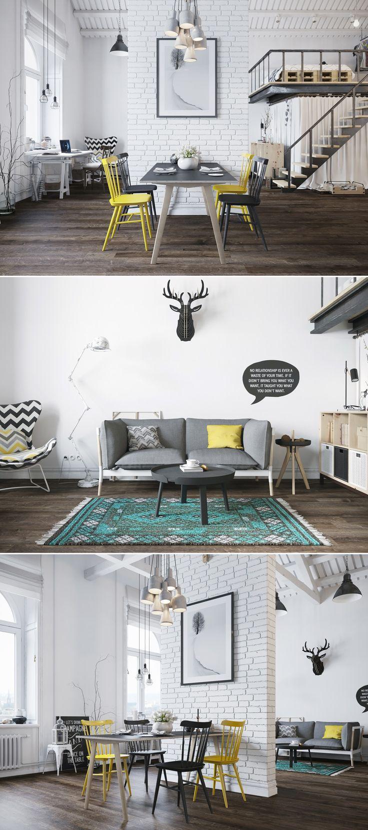 Scandinavian Loft - Галерея 3ddd.ru