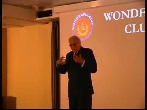 """Usare in modo costruttivo le emozioni (Carlo Fiorentini) - dall'incontro del Wonderful Club """"L'intelligenza emotiva"""""""