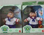 "Vintage ""CABBAGE PATCH Kids Collectible Baby"" Set of 2 ""Cabbage Patch Baby"" ""Vintage Cabbage Patch"" ""Vintage Dolls"" Vintage Toys Dolls Baby"