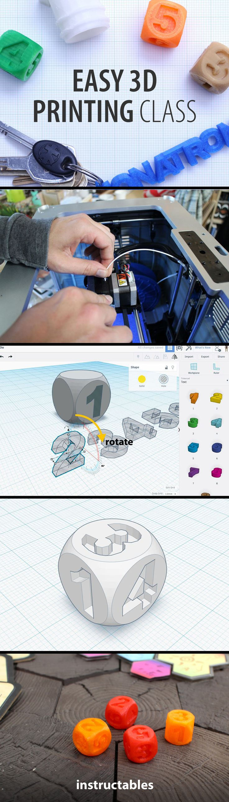 Learn 3D printing basics in this easy-to-follow class.