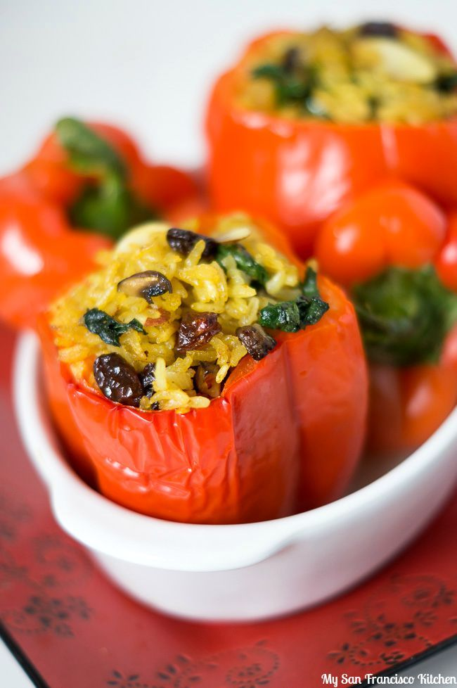 1000+ ideas about Vegetarian Stuffed Peppers on Pinterest ...