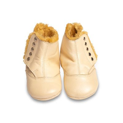 Old Soles North Pole Boot in Pearl Metallic with Bronze Studs – Sweet Thing Baby & Childrens Wear #BabyGirl #Shoe #Boot #Sweetthing sweetthing.com.au