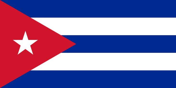 The flag of Cuba, designed in 1849 by Venezuelan-Cuban soldier Narciso López and Cuban poet Miguel Teurbe Tolón to symbolize their effort to have the US annex Cuba from Spain. Whitney Smith writes: