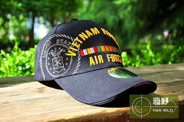 HAN WILD WW2 Vietnam Vintage Cotton Gorras Memorable Air Force Cap Snapback Letter Tactical Baseball Cap US Army Hats Like if you remember Get it here