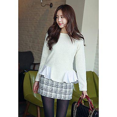 Pattern Stylish Mini Skirt  #koreanfashion #tomnrabbit #crgang