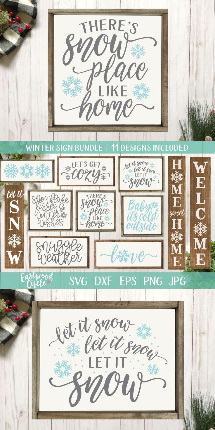 Winter svg Bundle, Christmas svg Bundle, Winter svg