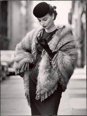 Fashion Vintage: Winter Wear...1952