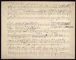 Brahms, Johannes, Deutsche Volkslieder, WoO 33. Selections - Music Manuscripts Online - The Morgan Library & Museum