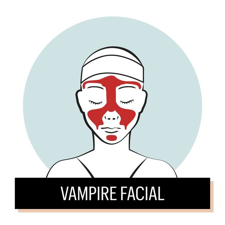 """A non-surgical alternative to a facelift, but not exactly one for the faint of heart, the Kim Kardashian-beloved """"vampire facial,"""" injects a gel-like substance made from the patient's blood onto the face to rejuvenate the skin and treat wrinkles. Heavy on the hyaluronic acid, it adds youthful volume and shape while improving skin tone."""