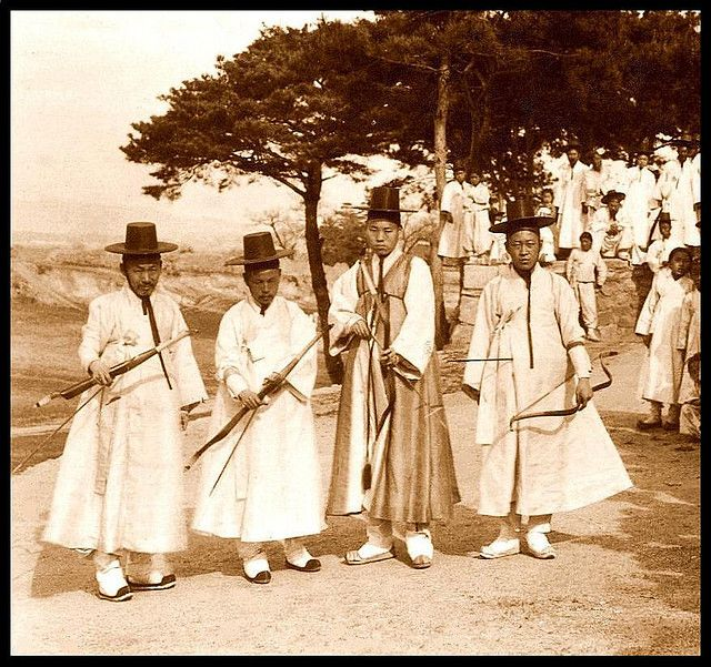 THE KOREAN ARCHERY SQUAD -- All Around Winners and Best of Show in 1903 | Flickr - Photo Sharing!
