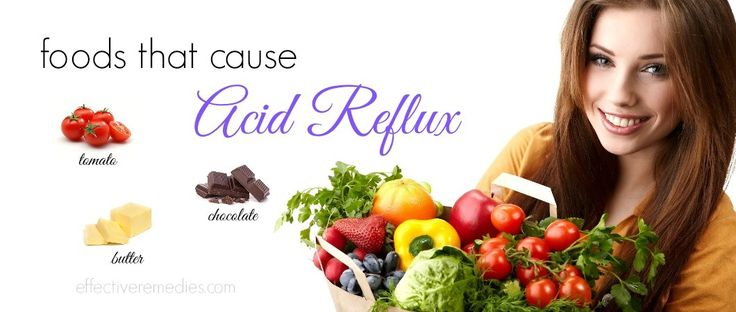 List of 12 Foods That Cause Acid Reflux Symptoms