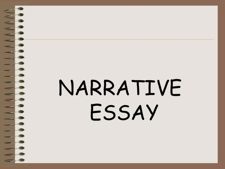 narrative essay instructions Keywords: digital storytelling instruction – weblogs- efl narrative writing skills-  efl critical  when writing a narrative essay, the writer wants not only.