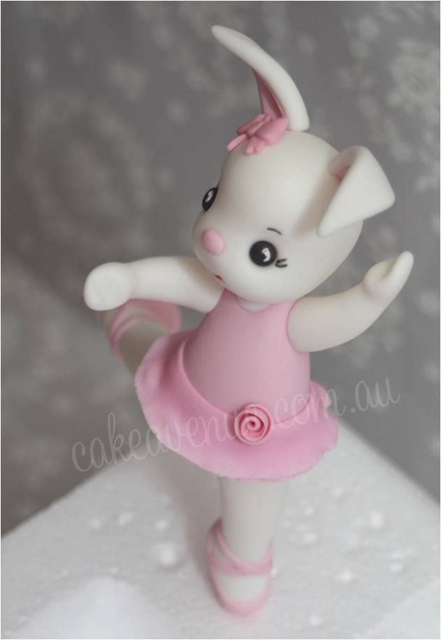 Ballerina Bunny by Cake Avenue