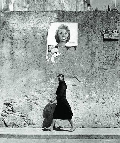 Photo by Agnès Varda (b. 1928) -  ''Sophia Loren'', Portugal, 1956.