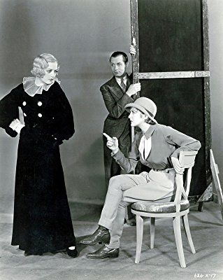 Marion Davies, Billie Dove, and Robert Montgomery in Blondie of the Follies (1932)