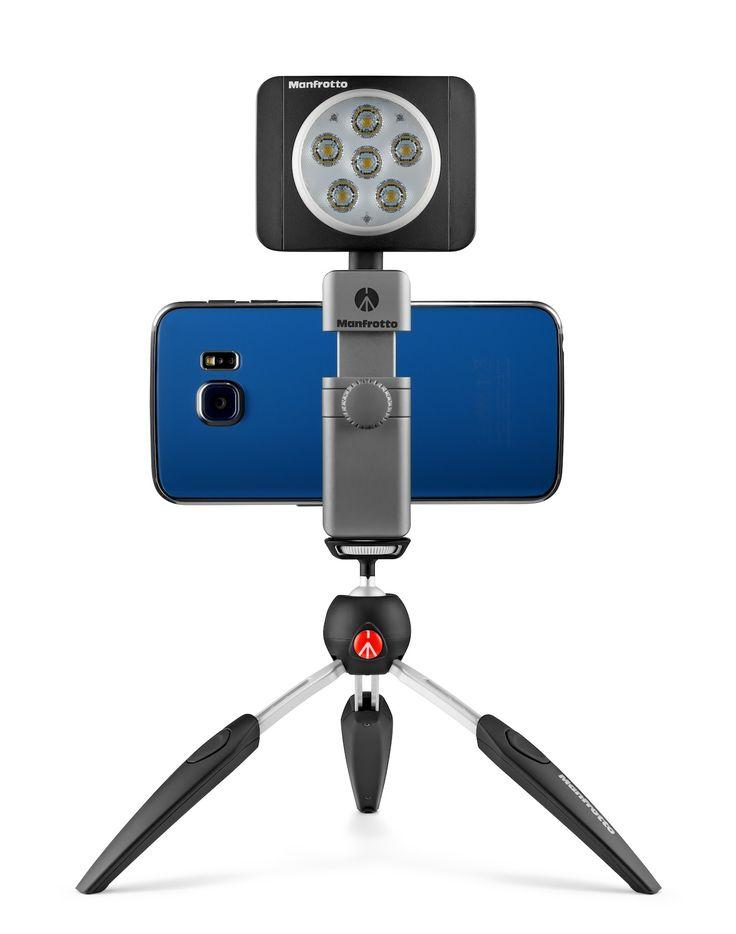Pince Universelle Premium pour Smartphone | Manfrotto