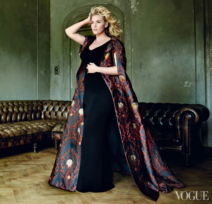 gorgeous Kate Winslet Vogue photos. How does anyone look like that when so heavily pregnant? LOve the lady