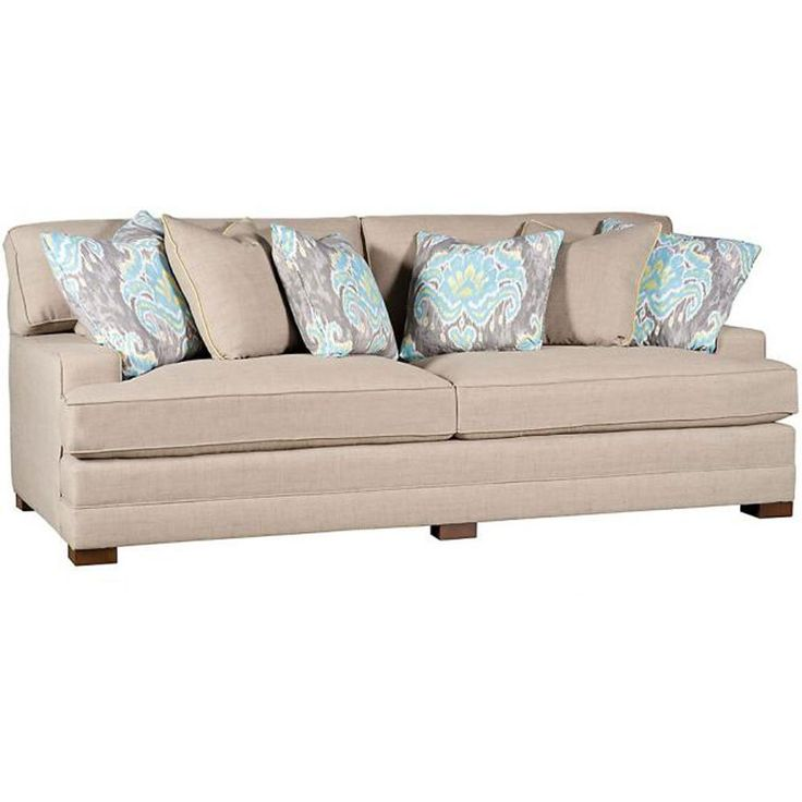... Casbah Fabric Sofa With Track Arm, Loose Border Back, Modern Leg, And  Fabric At Schmitt Furniture Company At Schmitt Furniture Company In New  Albany, IN