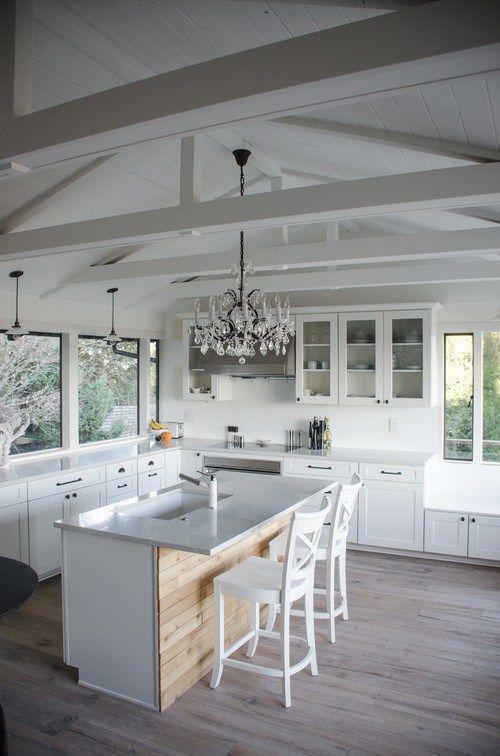 Resultado de imagen para cocinas decoradas estilo shabby chic + farmhouse