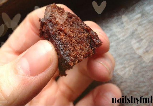Nailsbyfml: DIY Magnetron brownie