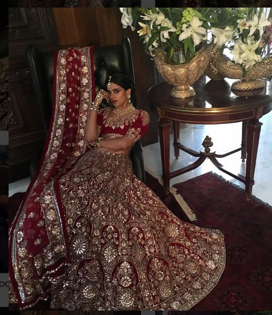 Indian wedding dresses by manish malhotra