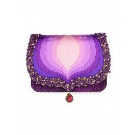 Taj Purple Clutch