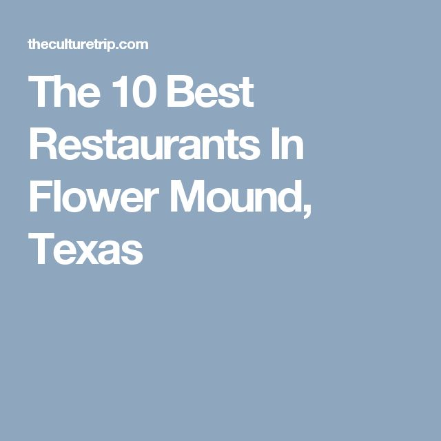 Restaurant coupons flower mound tx