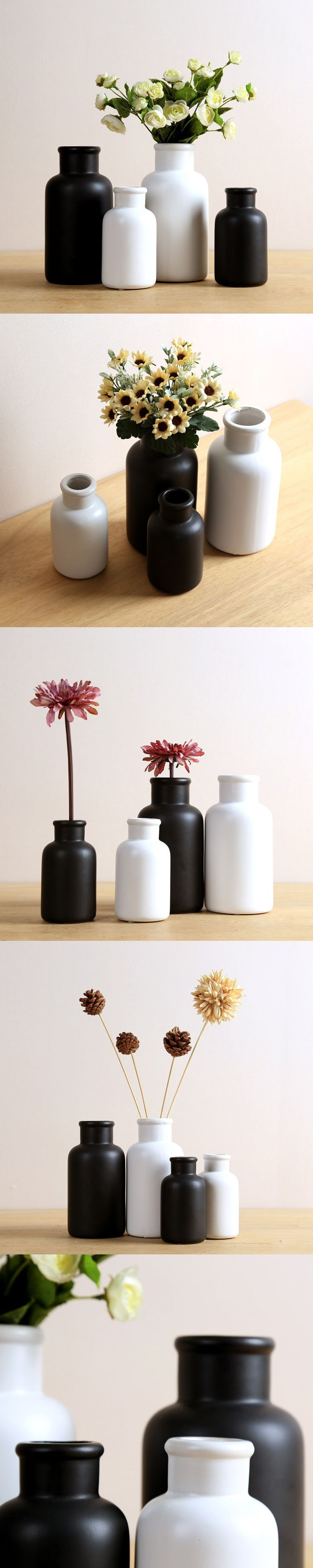 Best 25 ceramic bisque ideas on pinterest ceramics to paint country japanese minimalist black and white home furnishing decorative crafts ornaments handmade ceramic bisque vases dailygadgetfo Choice Image
