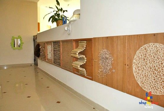 sensory wall - for 1 year room?! #tssUltimateClassroom