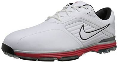Offering TPU integrated traction these mens lunar prevail golf shoes by Nike will ensure you stay well grounded on the course