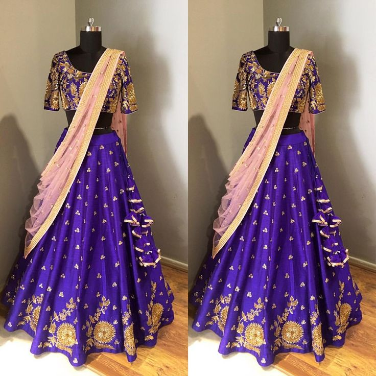 Beautiful koela flower buta lehenga from mrunalini rao. 07 April 2017