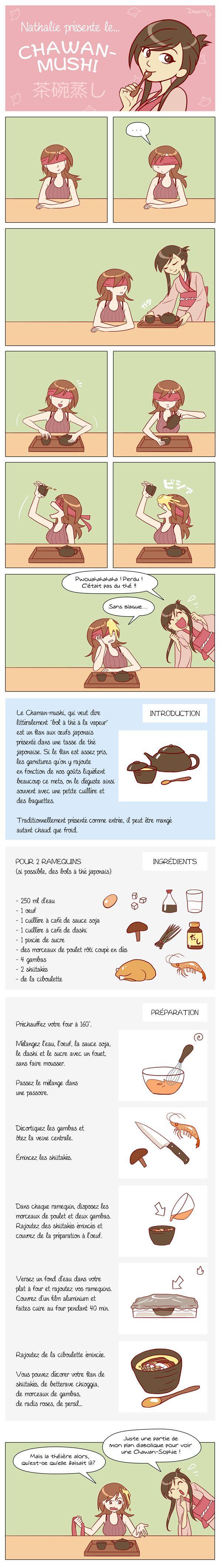 CUISINE - La recette du Chawanmushi en BD                                                                                                                                                                                 Plus