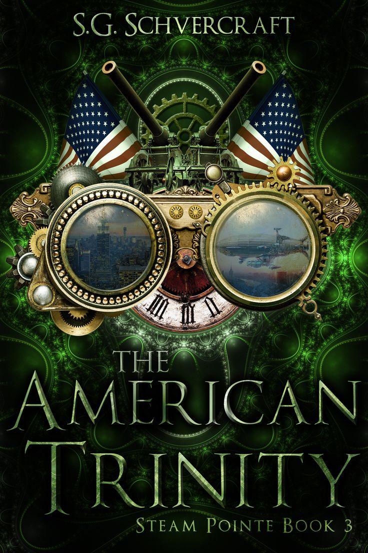 Steampunk Fantasy Book Cover Design, Deranged Doctor Design