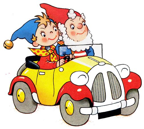 I used to love Noddy. Maybe because everything in the late fifties/early sixties was so grey. Noddy was in vibrant colour!