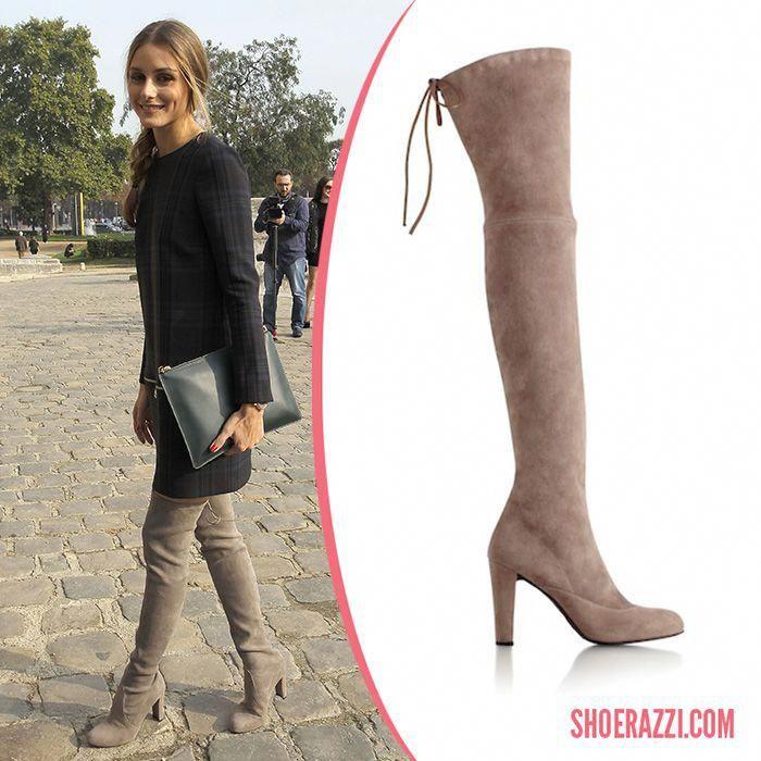 Olivia Palermo in Stuart Weitzman Highland Thigh-High Boots  StuartWeitzman 7eb4c56fc69d