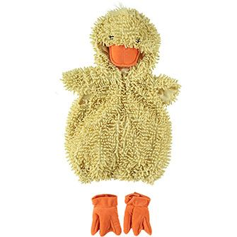 Yellow & Orange Baby Duck Costume