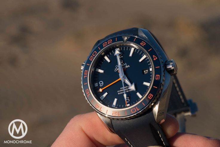 Monochrome Monday: Reviewing the Omega Seamaster Planet Ocean 600M GMT GoodPlanet