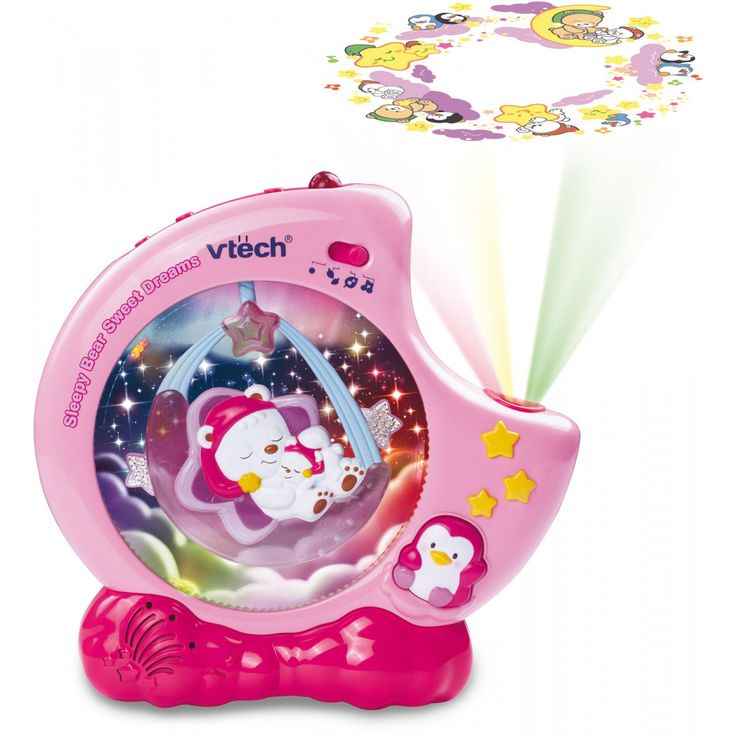 Vtech Sleepy Bear Sweet Dreams Pink