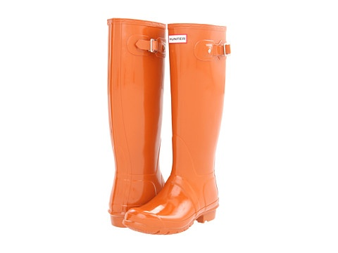 Ohhh I want these for Gator games....and lots of other occasions! Hunter Original High Gloss at VIP.Zappos.com