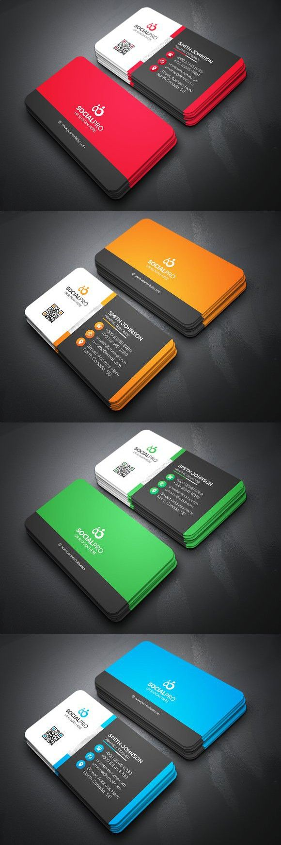 2681 best Business Card Templates images on Pinterest