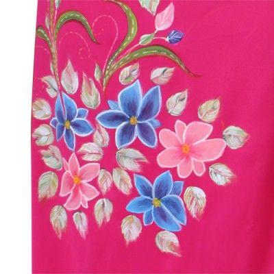 Kain Lukis Satin Flowers Bouquet - SLIGHT Shop http://www.slightshop.com/produk/kain-lukis-satin-flowers-bouquet/