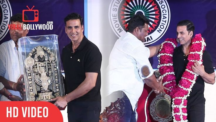 Akshay Kumar Get's Felicitated By Movie Stunt Artist's Association