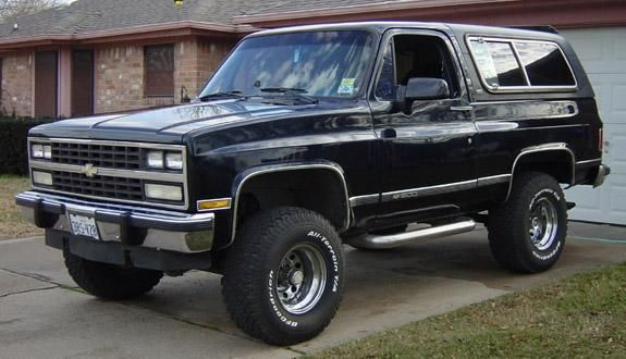 1988 k5 blazer silverado cheyenne...my first car and the best ive ever drove