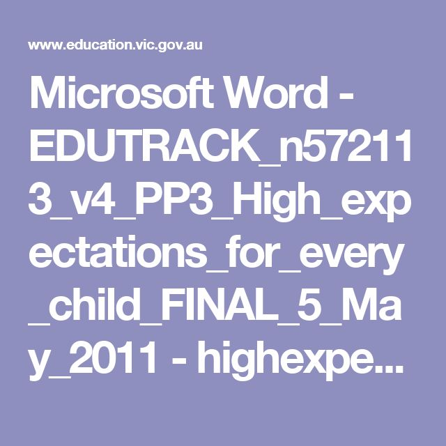 Microsoft Word - EDUTRACK_n572113_v4_PP3_High_expectations_for_every_child_FINAL_5_May_2011 - highexpect.pdf