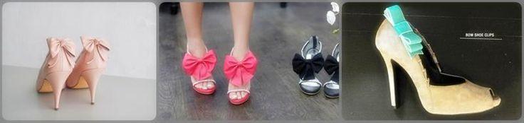 Банты для туфли как сделать
