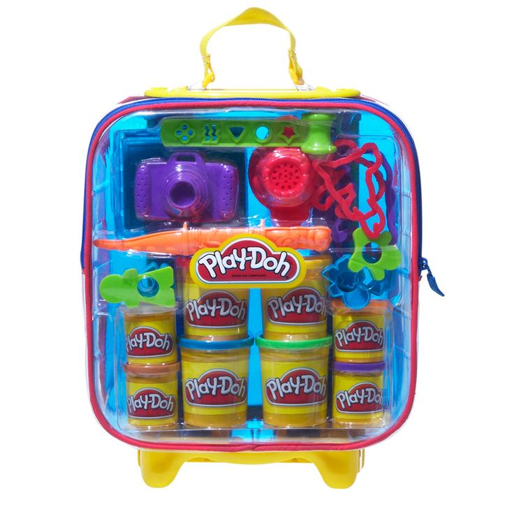 Play Doh On The Go Suitcase